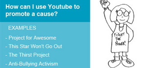 Using YouTube for Causes and Activism