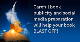 How the Communications Department Helps Your Book Blast Off