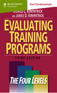 Level Four Training Evaluation: Results